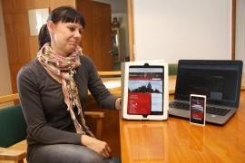 Kunnansihteeri Katja Törrönen vastasi kunnan nettisivujen uudistamisesta.