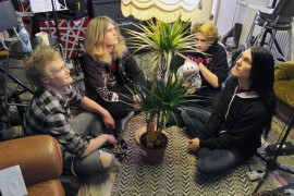 Sydäntalvi soittaa rock-musiikkia, joka saa vaikutteita monesta erilaisesta musiikkigenrestä. Bändin muodostavat Timo Keränen (vas.), Vili Mäkinen, Konsta Airisto ja Mikael Ruoho.