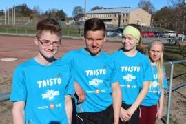 Varppeen koulun Taisto-joukkue eli Panu Arino, Oskari Siirilä, Jutta Lukkala ja Aurora Mäkinen sijoittuivat maaliskuussa kisatuissa aluekarsinnoissa toiseksi.