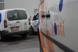 Itellan autot jäivät parkkiin perjantaina ulosmarssin takia.