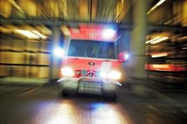 Mikäli sairaanhoitopiirin muutokset menevät valtuustossa läpi, ei ambulanssi päivystä enää Laitilassa. Kuva: Ari-Matti Ruuska