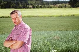 Timo Kaunisto sai Laitilasta 245 ääntä. Kuva: Lennart Holmberg