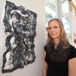 Saana Murtti on yksi Untamalan Kulttuurikeskuksen kesän taiteilijavieraista.