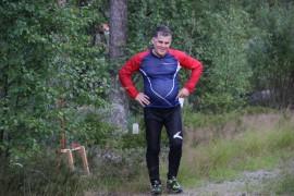 Veijo Viitanen osallistui kuntorasteille. Kuva Reea Ruusuvuori.