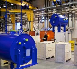 Lämmönsiirtoon erikoistunut Vahterus on kansainvälinen yritys .