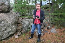 Marko Laihinen opiskelee taide- ja kulttuurijournalismia.