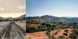 Kuvassa näkyvät Asai-kukkulat. Kuvat on ottanut tarinan kirjoittajan Viktor Peroniuksen Veli Adolf.