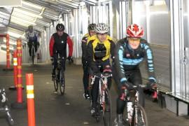 Viime viikonloppuna kuntoputkessa järjestettiin pyöräilytapahtuma.