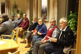 Pyhärannan kunnanvaltuuston kokousta oli saapunut kuulemaan parisenkymmentä kuntalaista. Kuva: Maria Suomi