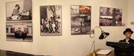 Laitilan Sanomat 90 vuotta valokuvanäyttely on esillä Laitilan kaupunginkirjastossa huhtikuun ajan. Aiemmin näyttely oli Kustaa Hiekan lukutuvassa, josta kuva.