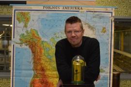 Toimitusjohtaja Rami Aarikan mukaan Kukko-olut aikoo valloittaa Pohjois-Amerikan. Kuva: Juhani Marttala