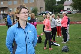 Hanna Lahtonen (vas.) totesi, että kisoissa oli aivan mahtava tunnelma. Hän osallistui kaikkiin muihin lajeihin paitsi 800 metrin juoksuun.