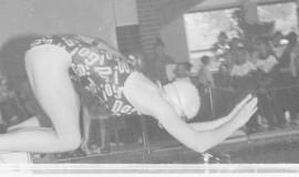 Laitilan kilpauimarit järjesti sunnunyaina aluekilpailut Laitilan uimahallissa. Kisoissa oli yli 400 starttia. Laura Mikola otti vauhdikkaan startom perhosuintiin. Hän sijoittui lopulta 7. Laitilan Sanomat 27.9.1995