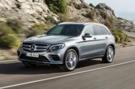 Mercedes-Benzin GLC-sarjan auto. Kuva: Mercedes-Benz