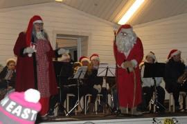 Joulupukki nähdään tänäkin vuonna lavalla vetämässä muun muassa yhteislaulua yhdessä Joulumuorin kanssa.