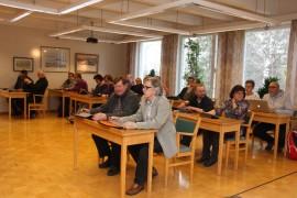 Pyhärannan valtuusto valitsi uuden kunnanjohtajan yksimielisesti. Kuva: Hanna Hyttinen