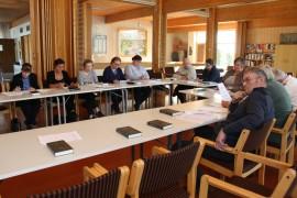 Pyhärannan kirkkovaltuusto hyväksyi eilen vuoden 2015 tilinpäätöksen. Kuva: Hanna Hyttinen