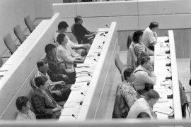 Laitilan valtuusto hyväksyi 10. kesäkuuta vuonna 1996 kaupungin edellisen vuoden tilinpäätöksen. Istunnossa käytiin kiivasta keskustelua verotuloista. Osa valtuutettuja nimittäin katsoi, että verokertymä oli tahallisesti arvioitu alakanttiin.