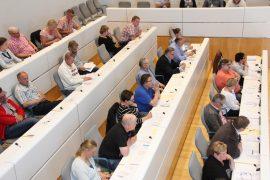 Laitilan valtuusto istui kevätkauden viimeistä kokoustaan kaksi tuntia. Kuva: Hanna Hyttinen