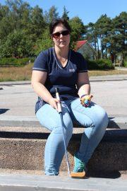 Sandra Walker on kuuden Suomen mestaruuden nainen.
