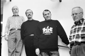 Mieslaulajien nykyisen johtokunnan muodostavat puheenjohtaja Asko Laine, taiteellinen johtaja Muisto Eilu, Kalle Haijanen ja Timo Yli-Nokari. Laitilan Sanomat 20.11.1996