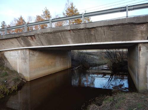 Ketunjoen silta. Kuva: Varsinais-Suomen Ely-keskus.